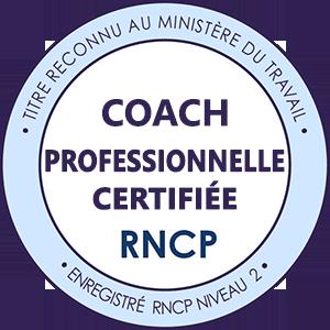Coach professionnelle certifiée RNCP